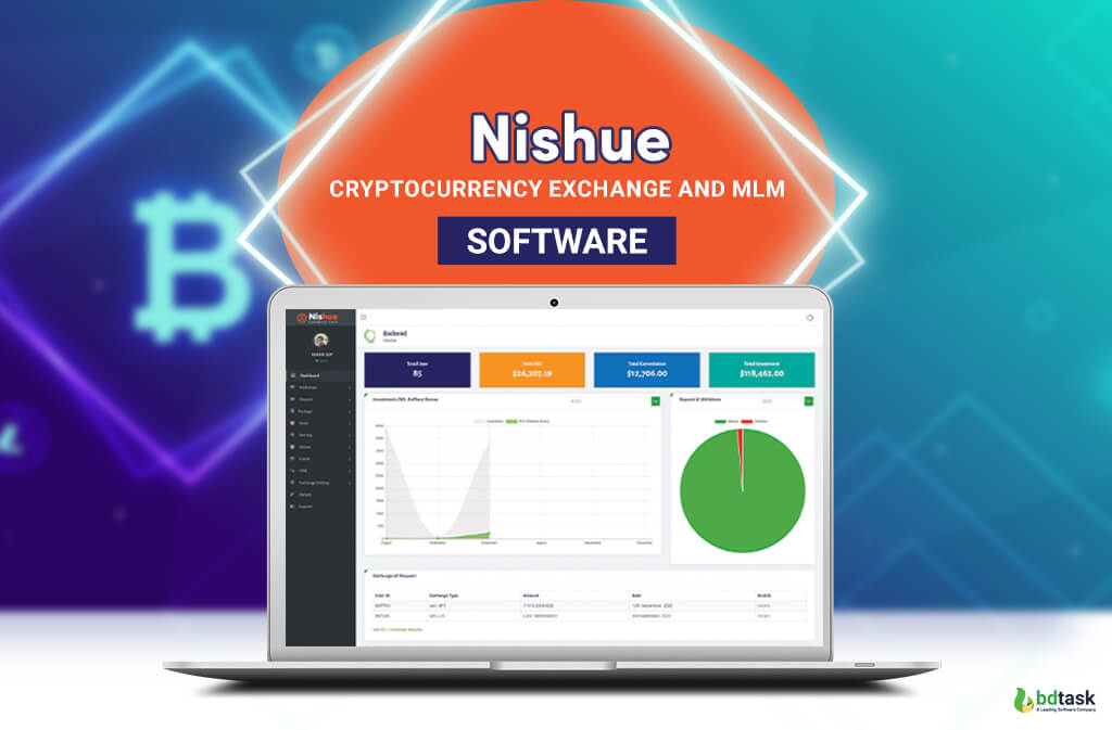 Cryptocurrency Exchange and MLM Software