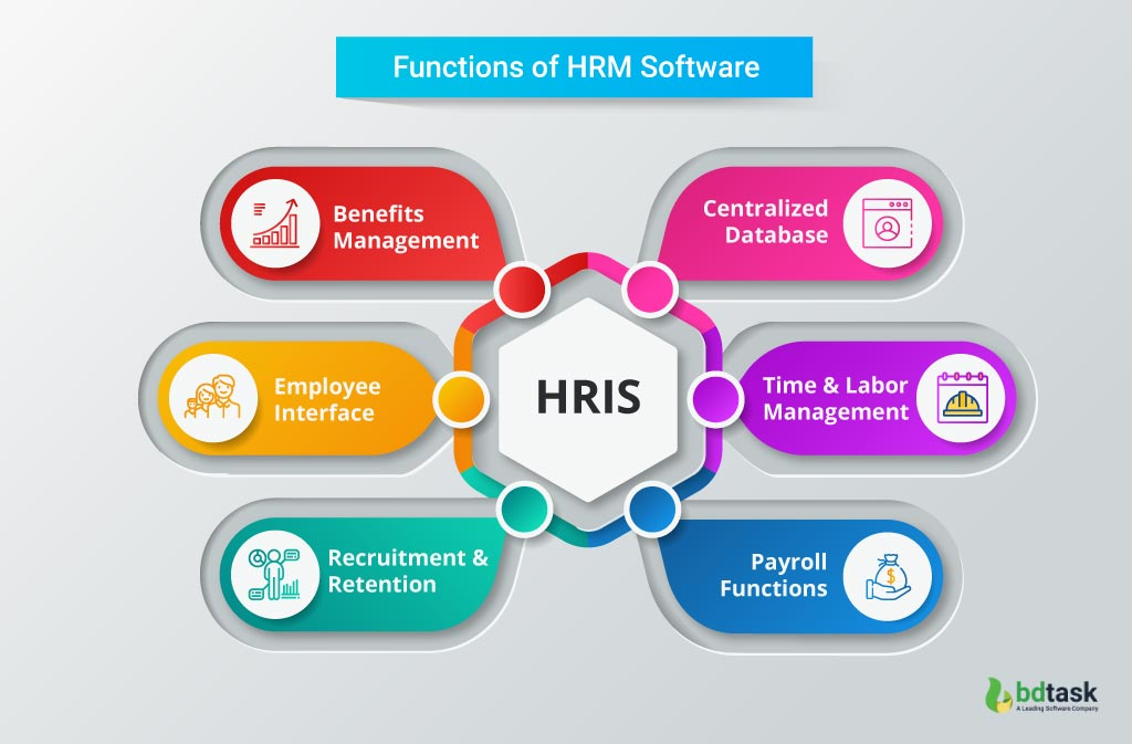 Working Functions and Components of HRIS System