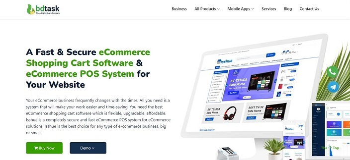 Isshue - Ecommerce Software