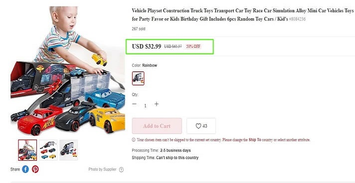 Toy Car For Kids