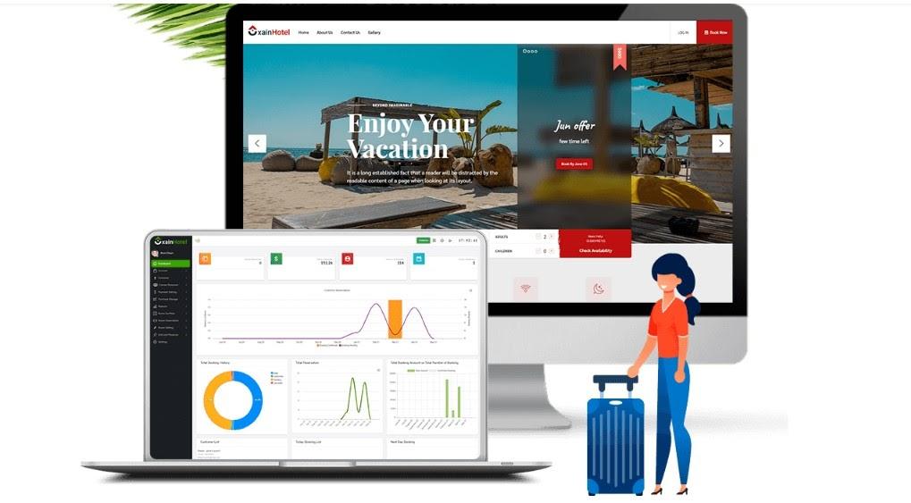 Xain - Hotel Management System