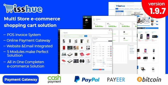 Isshue - ecommerce php script