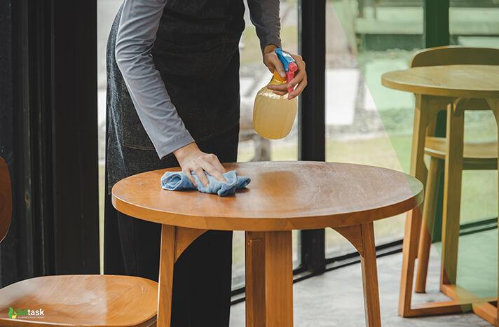 Keep Clean The Restaurant