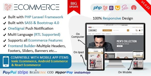 Laravel - Ecommerce Software