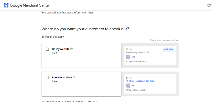 Google Merchant Sign Up 3