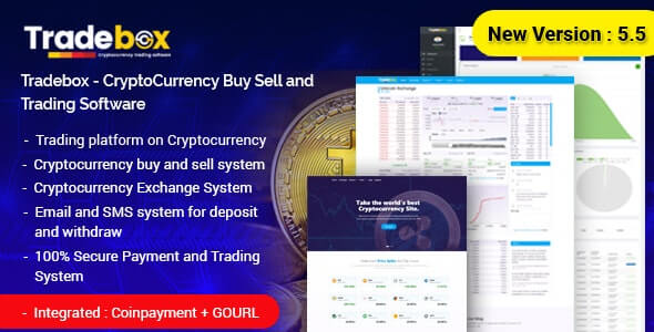 Tradebox - Cryptocurrency Trading Software