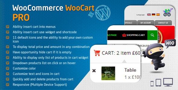 WooCart Pro Script