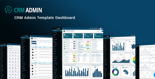 CRM-admin-template