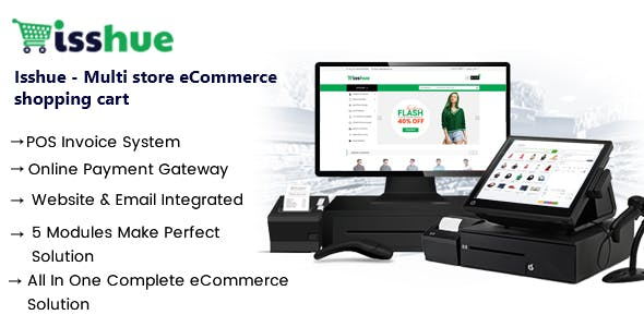 Multi Store Ecommerce Shopping cart Software