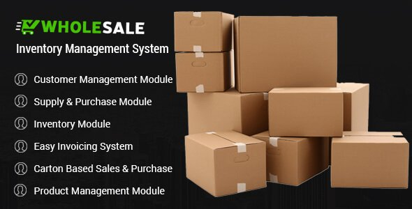 Wholesale - Inventory Management System