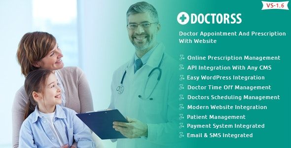 Doctorss -Doctor Appointment and Prescription System