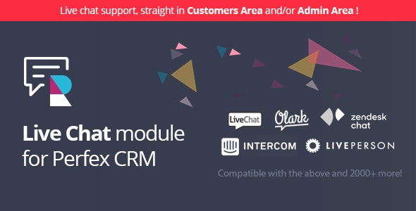 Live Chat for Perfex CRM