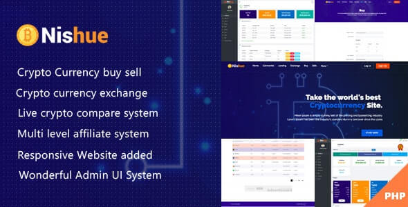 Nishue - Cryptocurrency Exchange Software