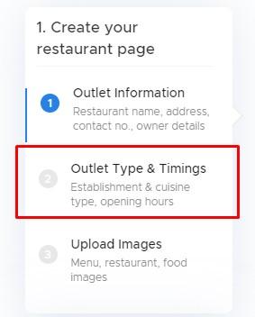 add restaurant type