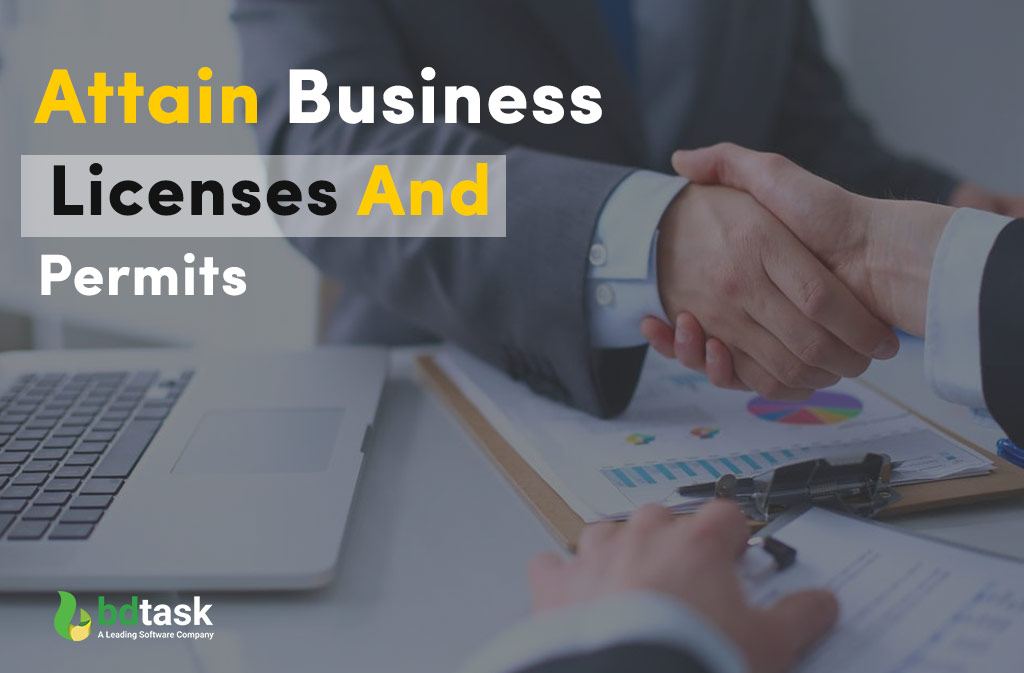 Attain Business Licenses and Permits