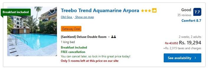 Booking.com Pricing