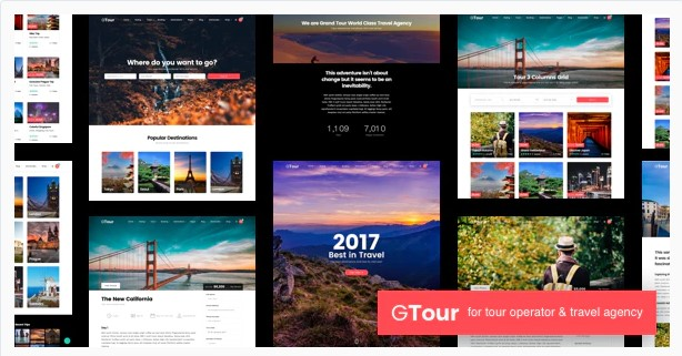 Grand Tour | Travel Agency WordPress