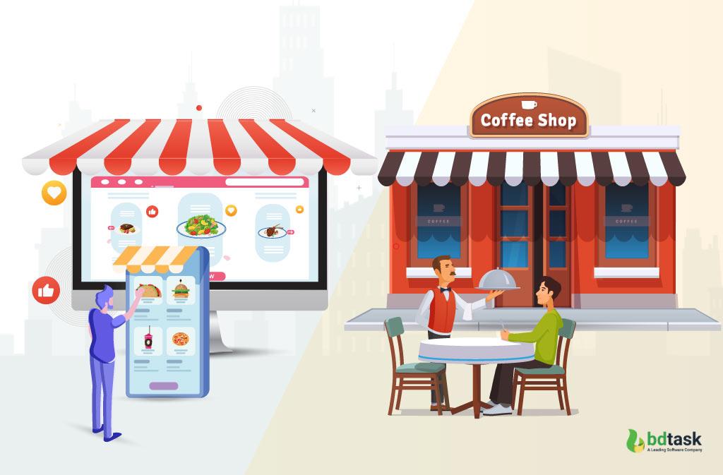 Online and Offline Restaurant Management System