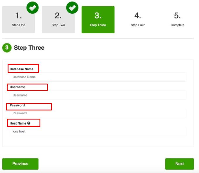 Online course platform setup - step-3
