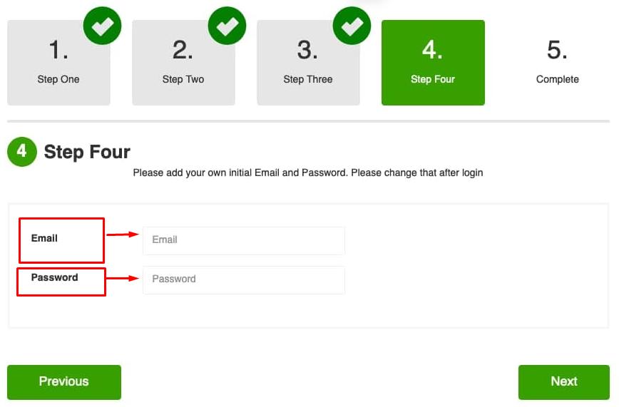 Online course platform setup - step-4.2