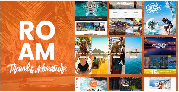 Roam - Travel & Tourism Theme