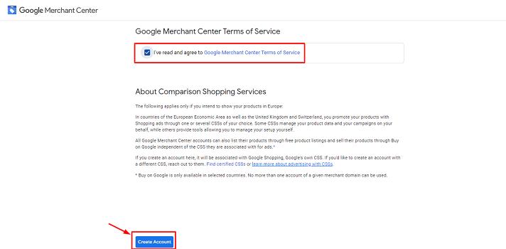 Google Merchant Sign Up 4