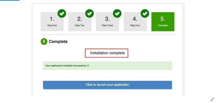 Software Installer Step 5