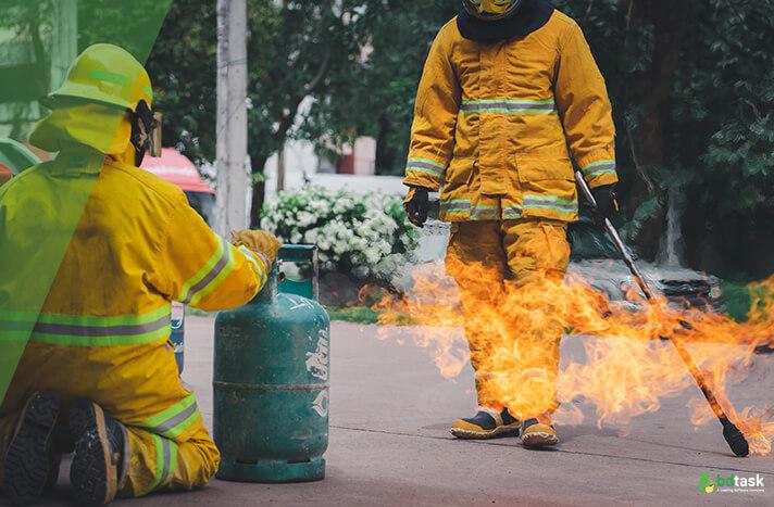 Proper Training on Fire Prevent