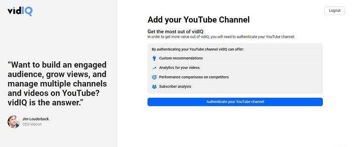vidIQ - YouTube Keyword Finder