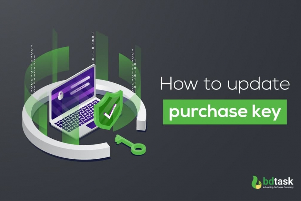 How to Update Purchase Key with Bdtask Software Installer