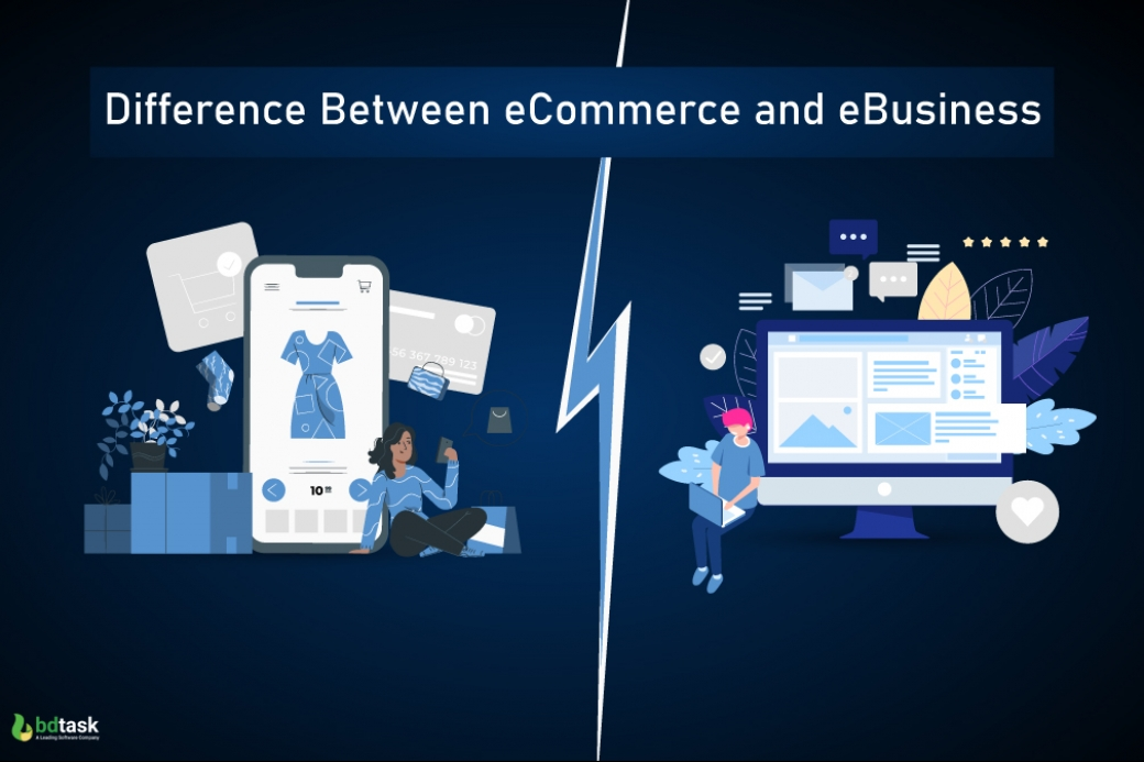 Difference between eCommerce and eBuisness