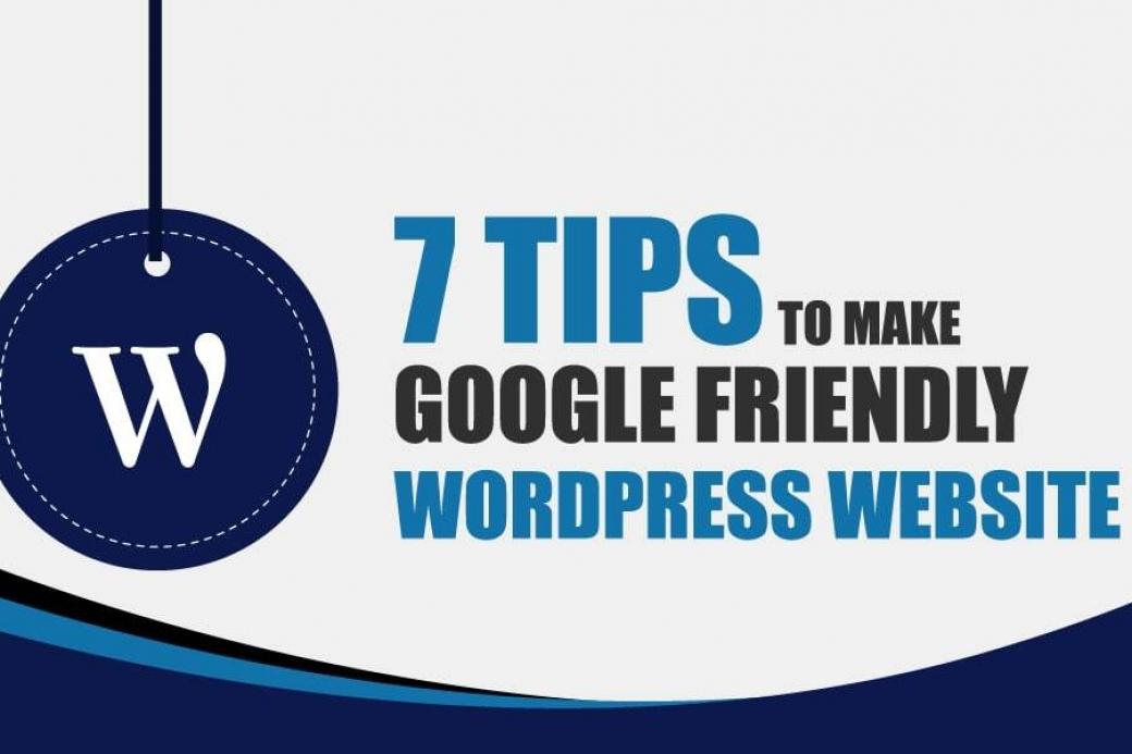 Google Friendly WordPress Website