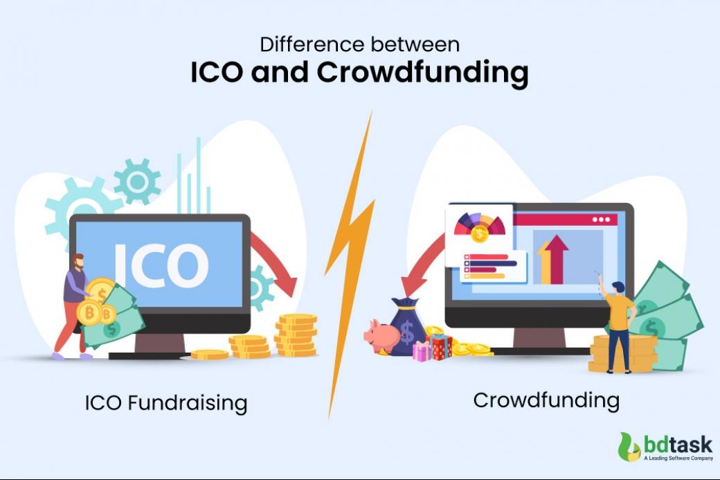 ICO and crowdfunding