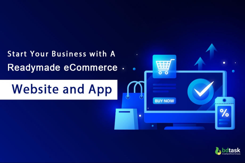 Readymade ECommerce Website and App