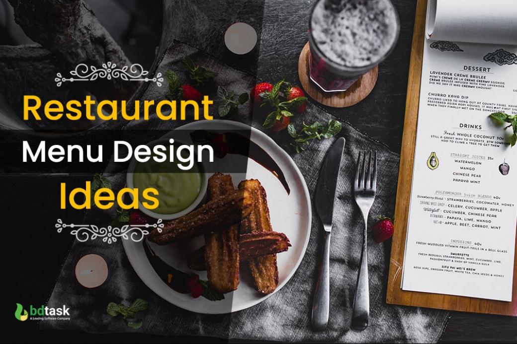 Restaurant Menu Design Ideas & Examples