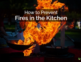 How to prevent fires in the kitchen