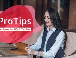 How to wait tables