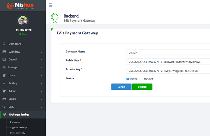 nishue payment gateways