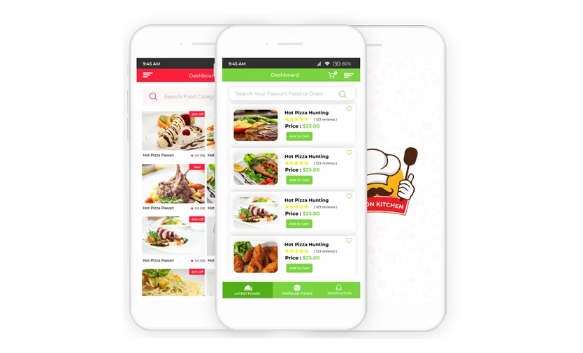 Restaurant Management Software Mobile Apps